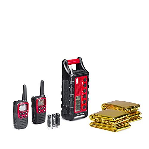 EK35 - Kit de Emergencia EK35 2 Walkies pmr446 XT30 + 4 Termal Blank