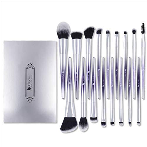 Pinceau De Maquillage Set 17 Pcs Outils De Maquillage Professionnel Advanced Foundation Blend Blush Eye Shadow Brush