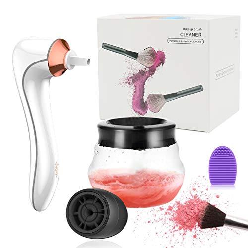 Lifetooler Cepillo de Maquillaje Eléctrico Limpiador y Secador Máquina USB Recargable de...