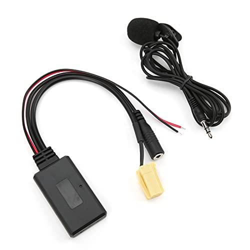 Cavo AUX 5.0, adattatore AUX Plug and Play con microfono per auto