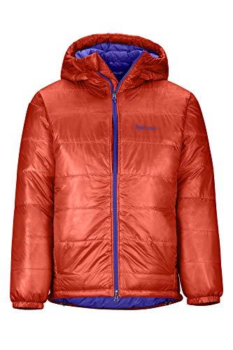 Marmot West Rib Parka Lichtgewicht donsjack voor heren, 800 fill-power, gevoerde gewatteerde jas, waterafstotend, winddicht