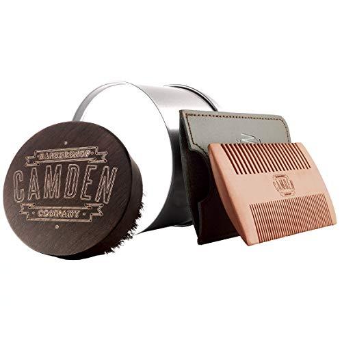 Cepillo y peine para barba ● Set de Camden Barbershop Company ● para el...