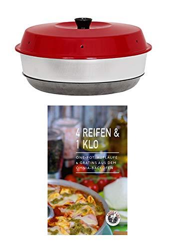 4Reifen1Klo Omnia Backofen 2-teiliges Spar-Set | Omnia Backofen + One-Pot, Aufläufe & Gratins Kochbuch
