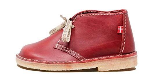 Duckfeet Sjælland Desert Boot, Pink (Granat), 38 EU