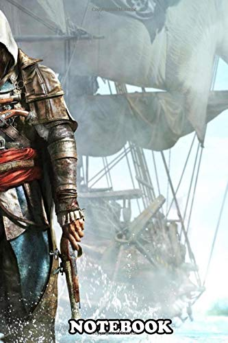 Notebook: Assassins Creed Wallpaper , Journal for Writing, College Ruled Size 6