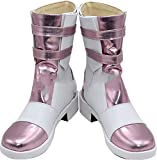 MINGCHUAN Whirl Cosplay Boots Shoes for Final Fantasy 13 Serah Farron