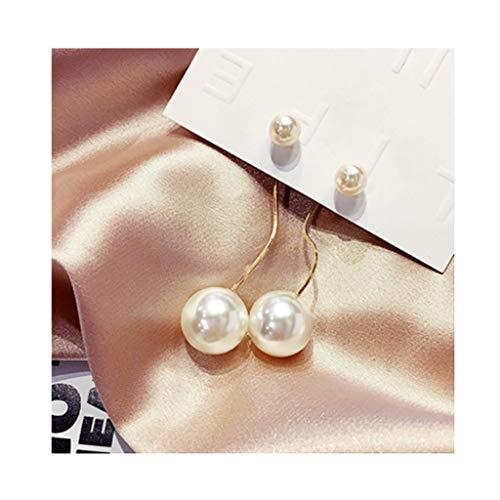 HJHJ Pendientes de Moda Drop Dangle Pendientes De Moda Golden Platey Moda Joyería Tassel Pendientes Exagerados Novia O Día De La Madre Regalo (Color : C9)