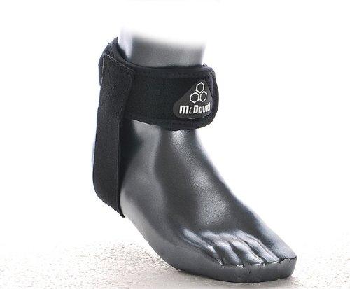 McDavid Knöchel-/Sprunggelenkschoner ACHILLES TENDON STRAP, Größe S/M, schwarz