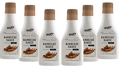 GOT7 Nutrition - MHD 06.2020! - Premium Saucen 6er Box Barbecue BBQ