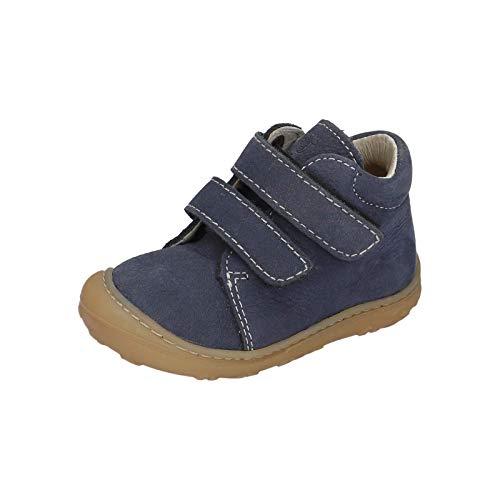 RICOSTA Pepino Unisex - Kinder Stiefel Chrisy, WMS: Weit, Klettstiefel Kind-er Kids junior Kleinkind-er Kinder-Schuhe toben,See,22 EU / 5.5 UK