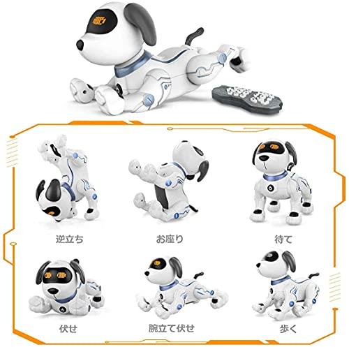 ROBOTPLAZAスタントドッグSTUNTDOG犬型ロボットロボット犬簡易プログラミングペットロボット日本語説明書STEM教育ロボットおもちゃ