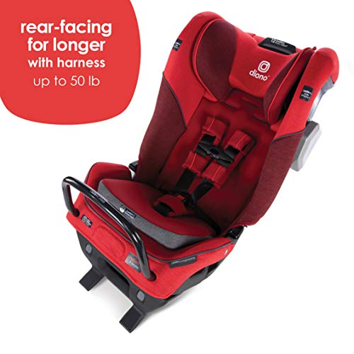 Diono 2020 Radian 3QXT Latch, All-in-One Convertible Car Seat, Red Cherry