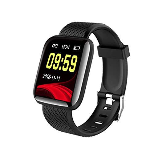 Ajcoflt Smartwatch, Wasserdichter Ip67-Fitness-Tracker, Intelligente Sportuhr Zur üBerwachung Der Herzfrequenz- Und Schlaferkennung, 1,3-Zoll-Farbbildschirm, Kompatibel Mit Ios- Und Android-Systemen