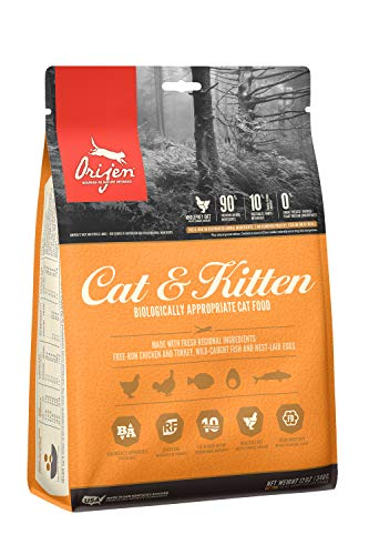 ORIJEN Trockenfutter für Katzen, getreidefrei, hochwertige, frische und Rohe Tierbestandteile