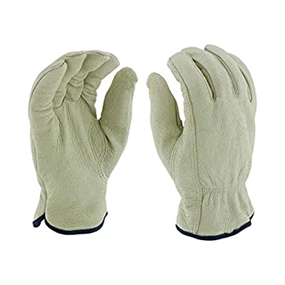 West Chester Select Grain Pigskin Leather Driver Gloves with Positherm Lining