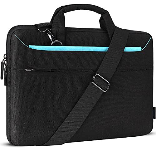 DOMISO 17 Zoll Wasserdicht Laptop Tasche Aktentasche Schultertasche Notebooktasche Business für 17-17.3