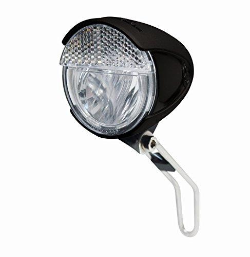 Trelock verlichting LS 583 Bike-i Retro FD S/SL/A dynamofrontschijnwerper fiets koplamp, zwart, 8 x 5 x 5 cm