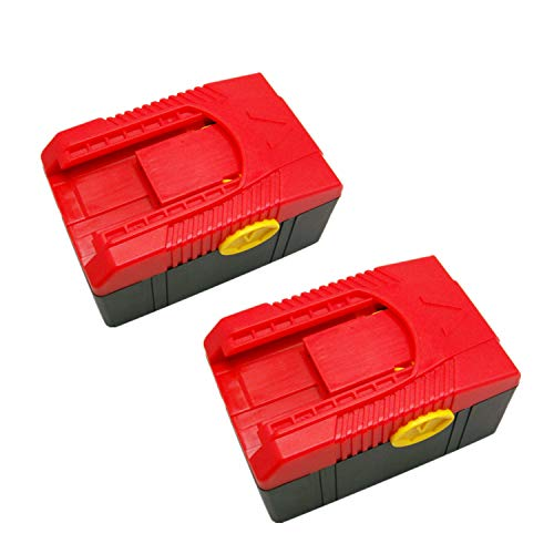 2X Packs CTB6187 CTB6185 CTB4187 CTB4185 Battery Replace for Snap on CT6850 CT6855, Impacts Wrench CT6850DB CTA6855 CDR6850DB,Drills Snap on CDR6850 CDR6855 4000mAh 18V