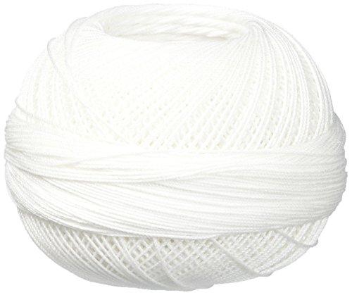 Handy Hands Lizbeth Cordonnet-Baumwolle, Größe 20, Schneewittchen