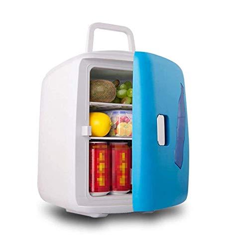 XTZJ Mini refrigerador Frigorífico de cuidado de la piel - con control de temperatura - enfriador termoeléctrico portátil AC / 12V DC y calentador para dormitorio, cosméticos, medicamentos, leche mate