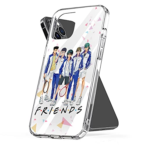 Phone Case Cover Tennis Clear No TPU Ouji-sama Pc Best Waterproof Games!! Funny Compatible for iPhone 6 6s 7 8 X Xs Xr 11 12 Se 2020 Pro Max Plus