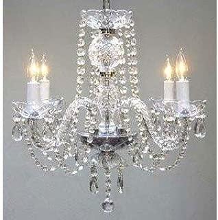 Best plug in crystal chandelier Reviews