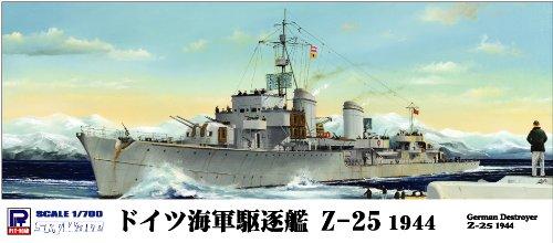 1/700 German Destroyer Z-25 (W143) (japan import)