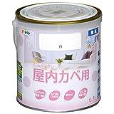 アサヒペン NEW水性インテリアカラー屋内カベ 0.7L 白