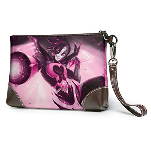 XCNGG Cool SpaceX Fashionable Leather Clutches, Handbags, briefcases, Soft Leather Wristband Clutches with Zipper