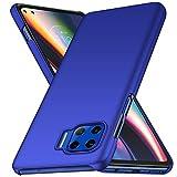Avalri Funda Moto G 5G Diseño Minimalista Estuche Rígido Ultra Delgado de PC a Prueba de Golpes Resistente a Rasguños Cover para Motorola Moto G 5G (Azul)