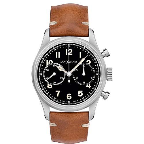 Montblanc Herren-Armbanduhr 42mm Braun Gehäuse Automatik 117836