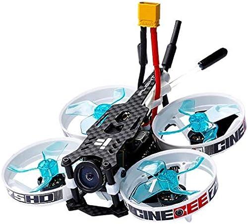 Qomomont iFlight CineBee Mini Racing Drone 75HD Indoor FPV Mini Quadrocopter 75mm mit FS-A8S V2 Pocket Helikopter für Anf er