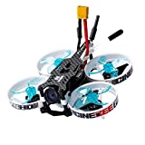 RC Drone Quadcopter Kits, Fdrone 🛩🛩 75HD Indoor FPV Racing Drone Mini Quadcopter 75mm Whoop (A - with Receiver: R-XSR)
