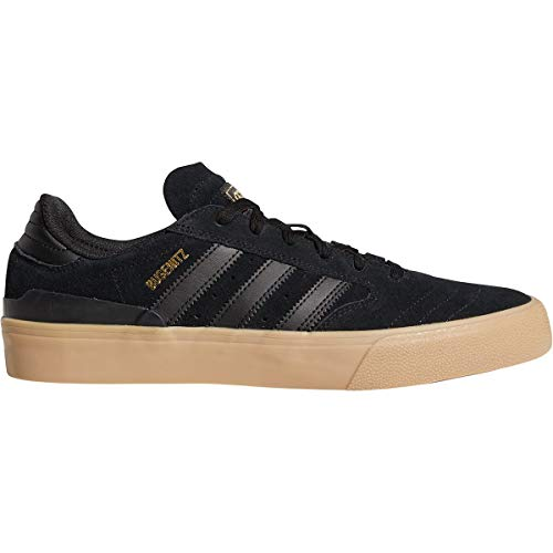 adidas Busenitz Vulc Shoe - Men's Core Black/Core Black/Gum4, 10.0