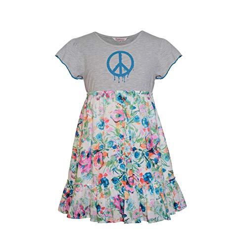 Pinkberry meisjes zomerjurk Peace
