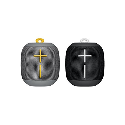 Ultimate Ears WONDERBOOM -  Altavoz Bluetooth impermeable con conexión, Negro y gris