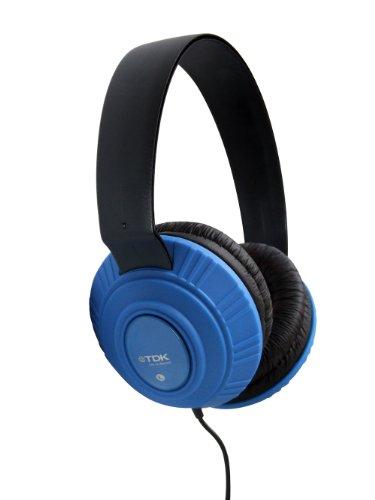 TDK MP100 - Auriculares de diadema cerrados, azul