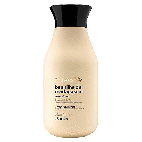Shampoo Baunilla de Madasgascar FIOS Aliñados nativa spa O BOTICARIO BOUTIQUEB - 300ML/10.1fl oz
