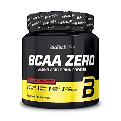 5 x Biotech USA BCAA Zero, 360g Dose, Zitronen-Eistee (5er Pack)