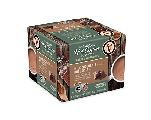 Victor Allen Coffee's Milk Chocolate Hot Cocoa for K-Cup Keurig 2.0...