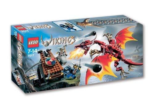 LEGO Wikinger 7017 - Katapult und Drache