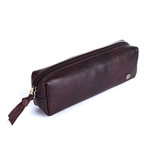 Hammonds Flycatcher Genuine Leather Brown Utility Pouch