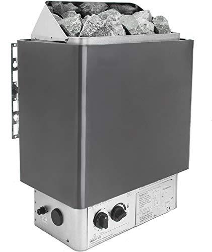 YYSDH SAUNE Heizung, 4,5-9 KW Saunaofen Elektronische Heizung Eingebaute Thermostatische Steuerung für Spas Schnelle Erwärmung Gut für Körperentgiftung Geeignet Gewichtsverlust, 9KW