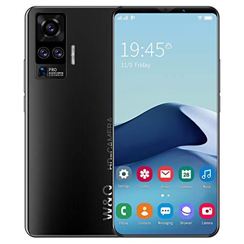 LVHC X50 Plus Smartphone, 5,8 Zoll FHD+ Display, 64GB interner Speicher, 4GB RAM, 13MP Quad-Rückkamera, 8MP Frontkamera, Dual-SIM, Android 10,Schwarz