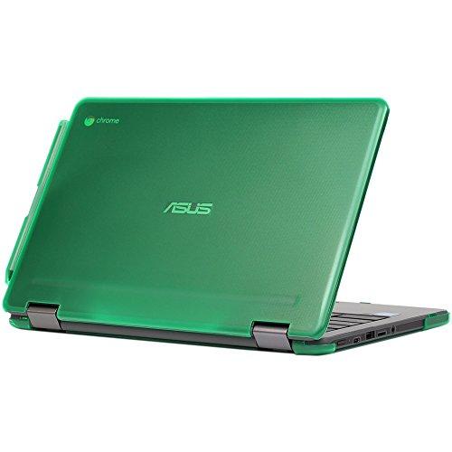 best sleeves for asus chromebook flip c214 in 2021 mCover Hard Shell Case for 11.6-inch ASUS Chromebook Flip C213SA Series Laptop - Green