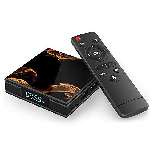 『Android 9.0 TV BOX ー Percrocuta 4K 高精細 アンドロイド9.0 Wifi テレビボックス RK3228A , 2GB RAM 16GB ROM 搭載 WIFI2.4GHz 経由 - Android TV BOX』の1枚目の画像