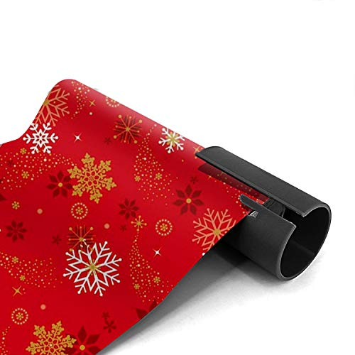 Wrapping Paper Cutter, Sliding Wrapping Paper Cutter Kraft Craft Paper Roll Gift Wrapping Paper Cutter Tool Tube Christmas/Birthday Present Easy Quick Cutter - 2 Pack Photo #2