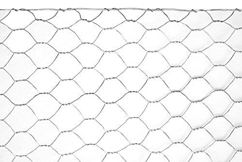 VERDELOOK Rete Metallica zincata Esagonale Esazinc 0,5x25 m con Maglia da 16 mm, Diametro Filo 0.7 mm