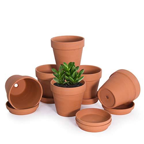 Terracotta Pots 4.5 Inch