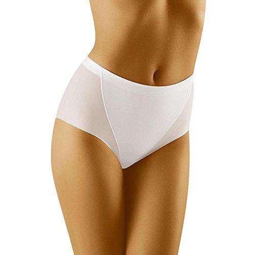 Wolbar Damen Maxi-Slip WB182, Weiß,Large